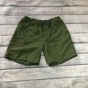 Patagonia Green Nylon Drawstring Shorts Size 2
